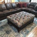 sofa and large ottoman