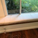 window bench pillow